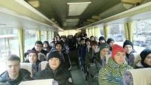 1 день - в автобусе