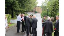 открытие памятника маршалу инженерных войск Аганову С.Х.