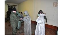Сборы с кадетами школы № 982