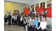 открытие зала воинской славы в школе № 761