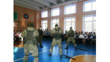 показательные выступления в школе № 567