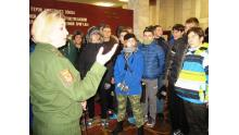 в музее воинской части