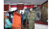 учащиеся ЮАО в 27 мотострелковой бригаде